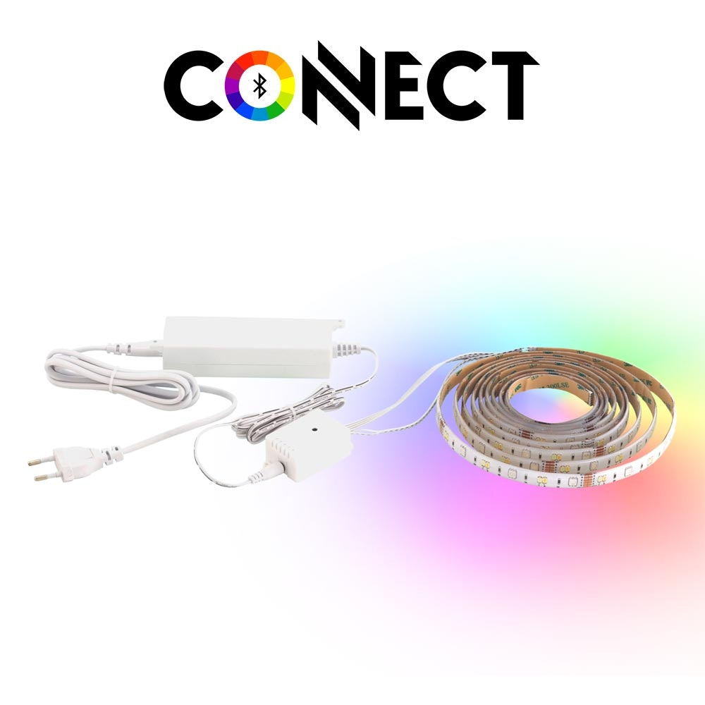 Connect LED Strip 3 Meter 1200lm RGB+CCT 1