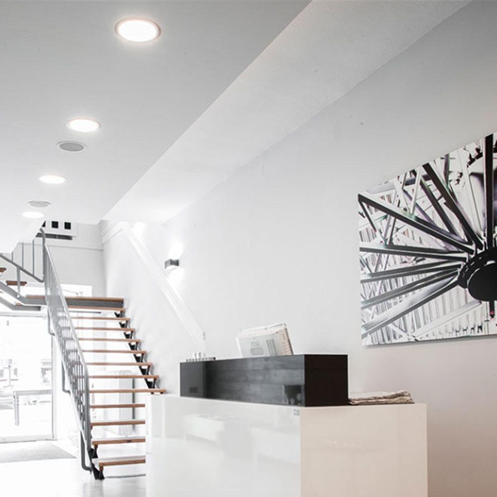 LED-Panel Einbau 1200 Lumen Ø 16,5cm rund 17