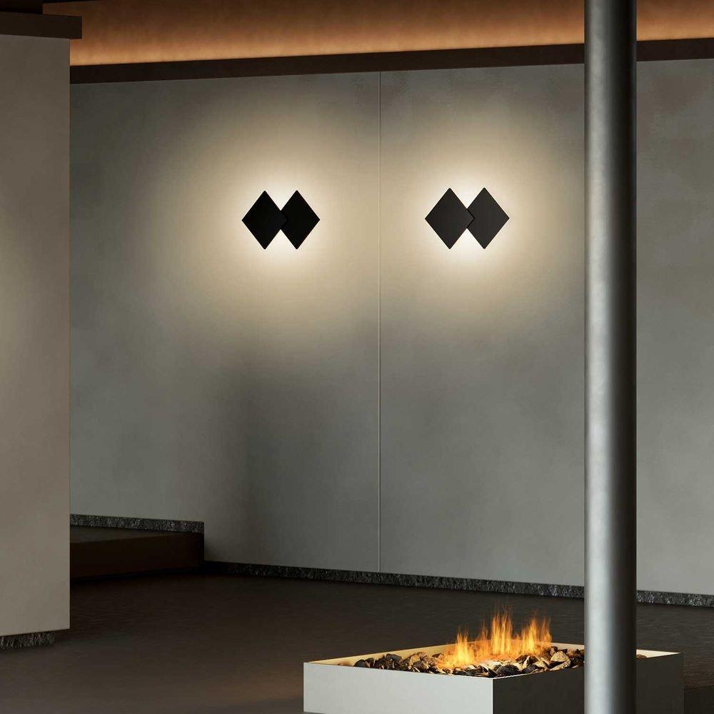 Studio Italia Design Puzzle Double eckig 30cm LED Wand- & Deckenleuchte 2