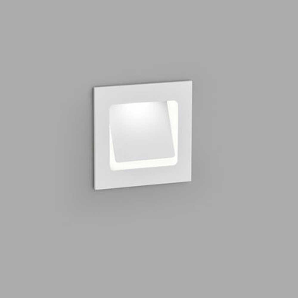 Helestra LED Wandeinbaustrahler Sent schwenkbar Weiß