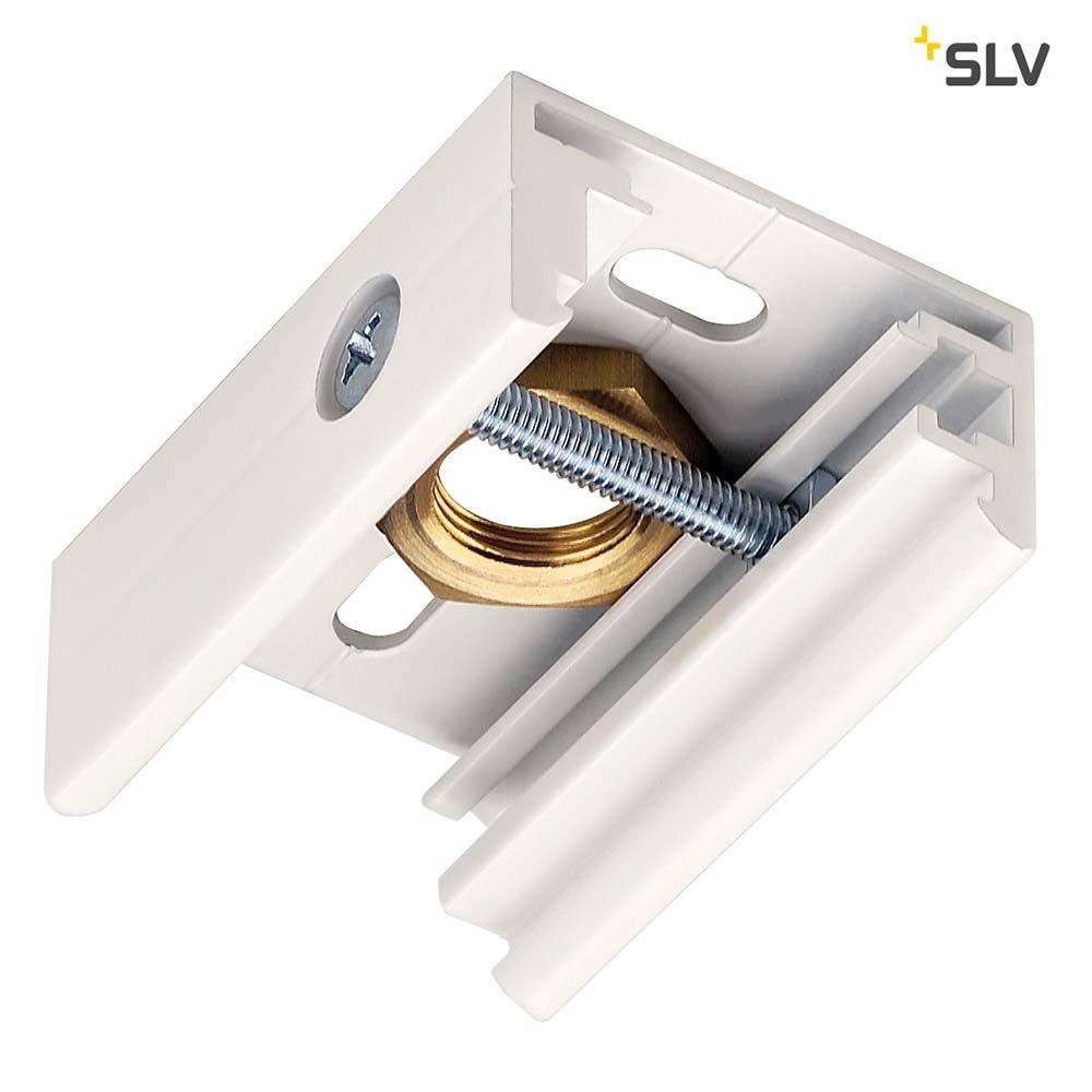 SLV Eutrac Pendelclip für 3P.-Schiene Weiß