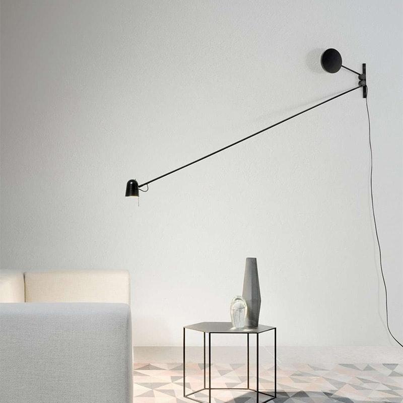 Luceplan LED Wandstrahler Counterbalance mit Gegengewicht 190cm 1
