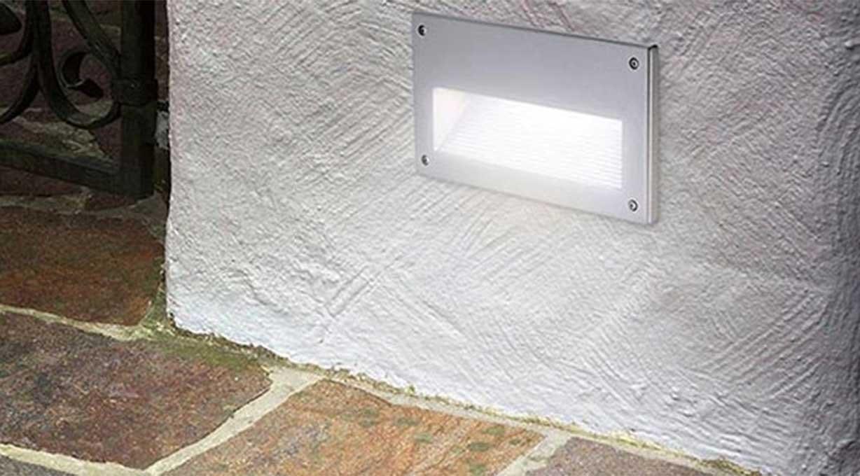 Wandeinbaulampe Außenbereich Eingangsbereich