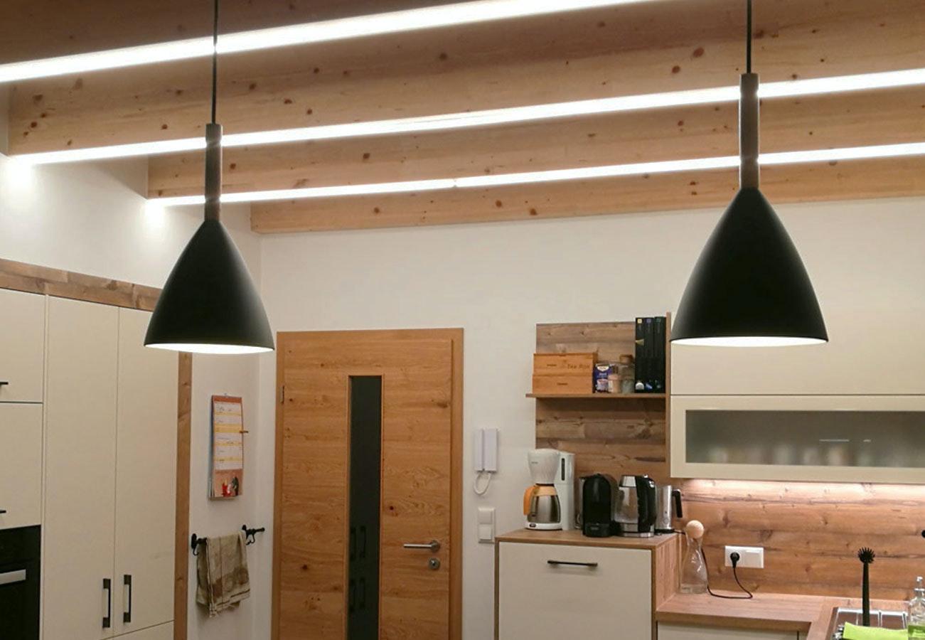 Küchenbeleuchtung Stripes