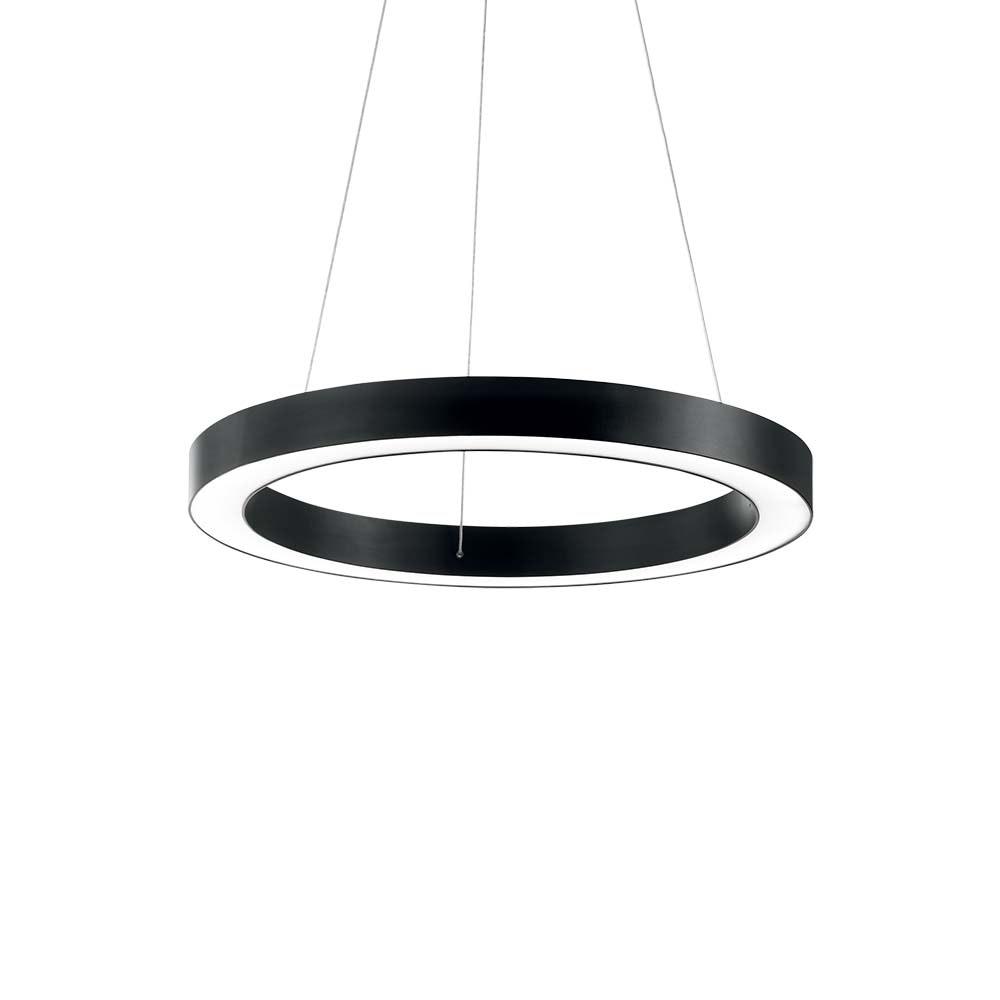 Ideal Lux LED Pendelleuchte Oracle Ø 50cm Schwarz