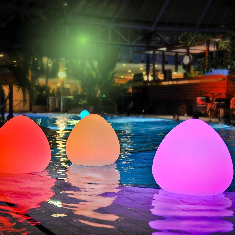 Bruchfeste LED-Akkulampe Stone mit App-Steuerung 2