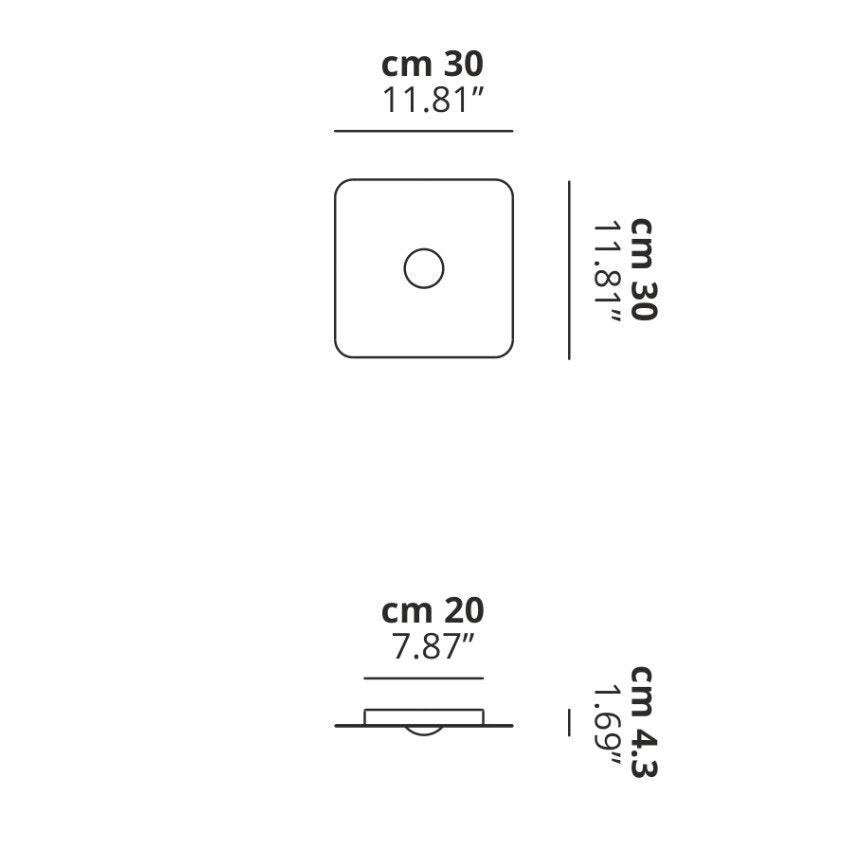 Studio Italia Design Frozen Small LED Deckenlampe thumbnail 4