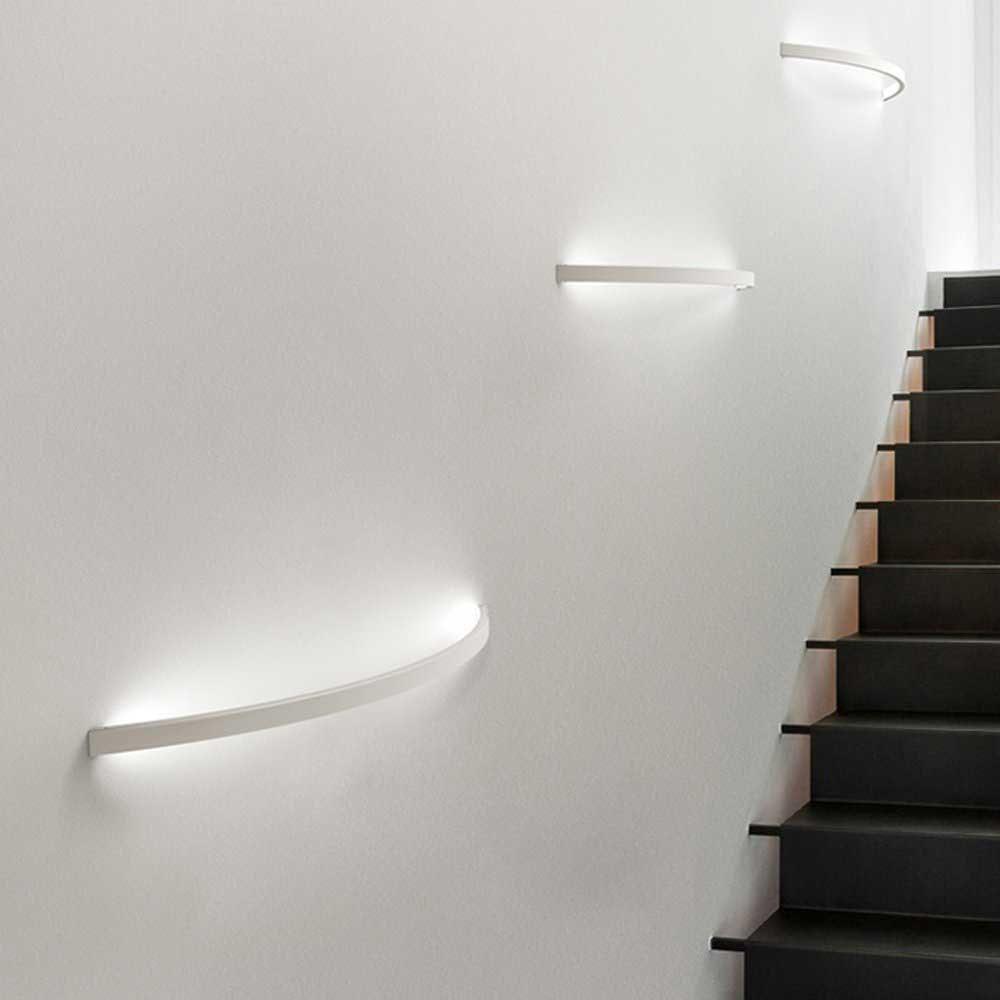 s.LUCE Ring M indirekte LED-Wandlampe 40cm 2