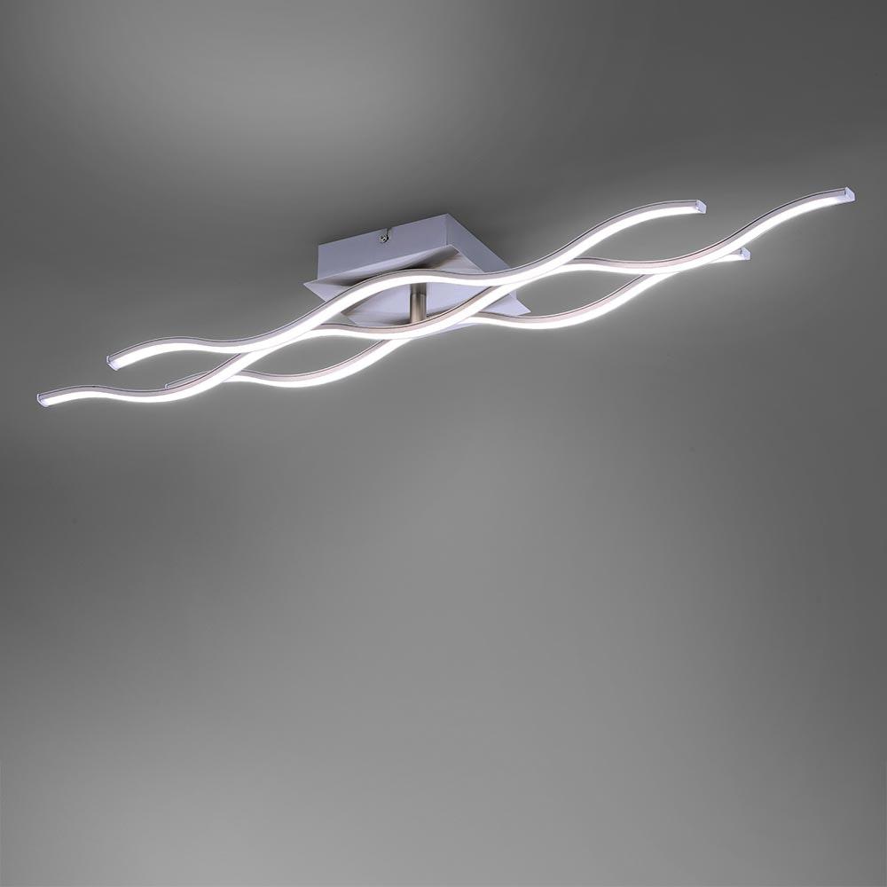 Max LED Deckenleuchte Stahl GU10 2