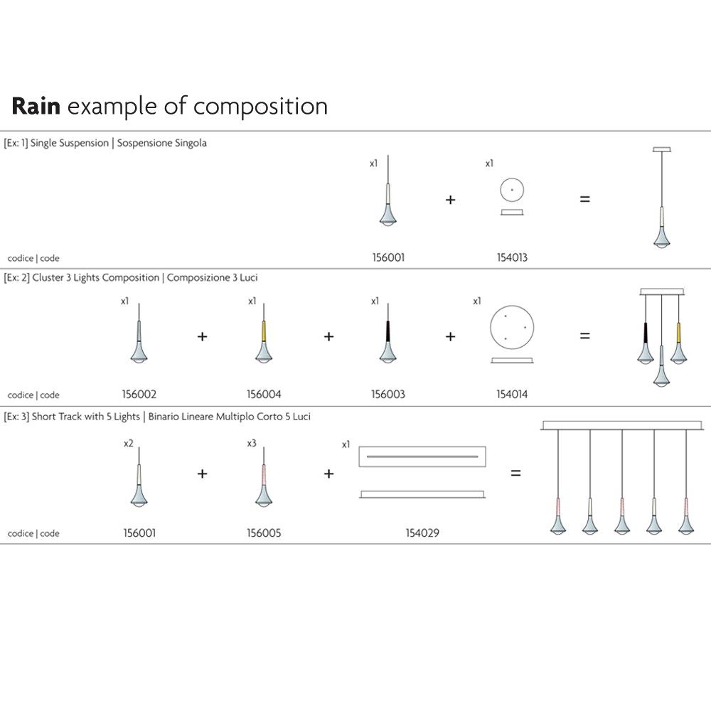 Lodes Zubehör Lights Track Long Lichtsystem Schiene 150cm thumbnail 4