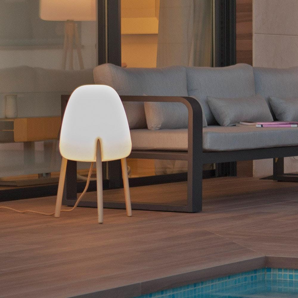 Licht-Trend Rocket LED-Solar-Tischleuchte mit Akku 1