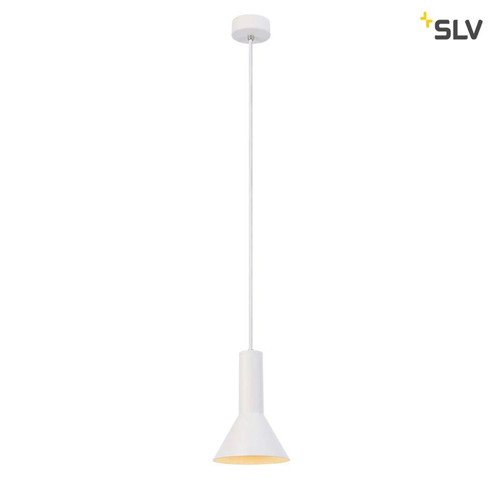 SLV Phelia Pendelleuchte E27 Weiß 17, 5cm