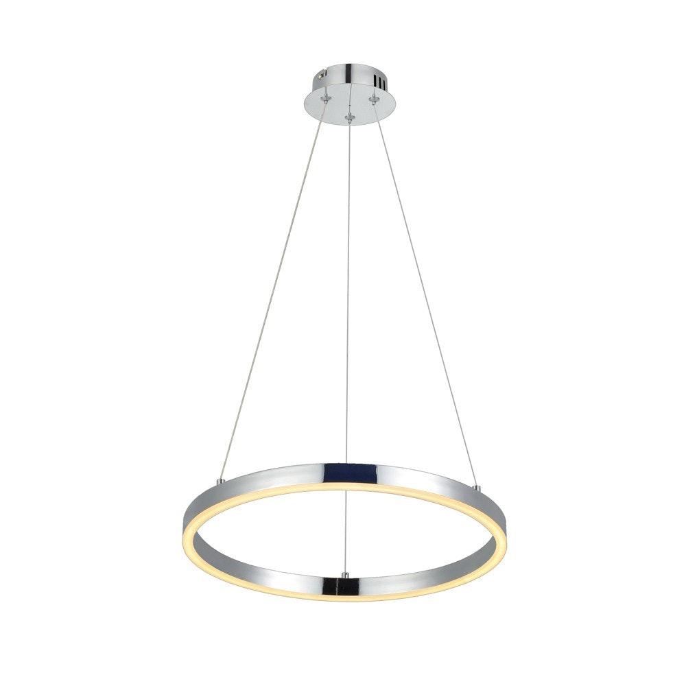s.LUCE Ring 40 LED-Hängelampe 5m Abhängung 9