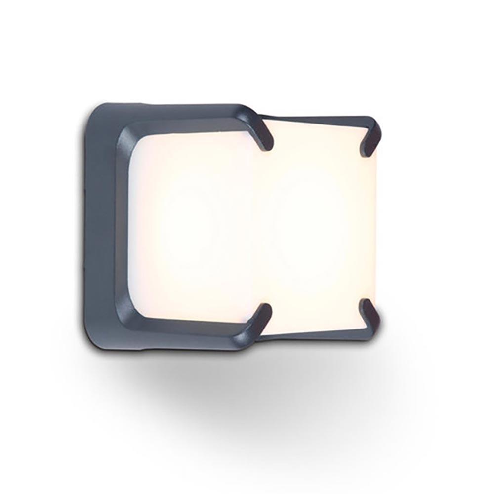 Lutec LED Wand-Aussenleuchte Armor IP54 560lm Anthrazit 2