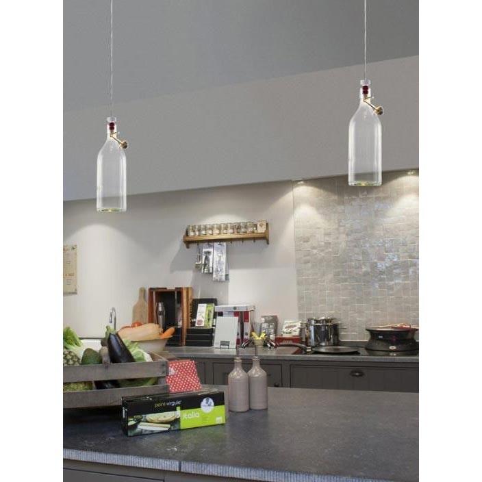 Wever & Ducre LED Hängeleuchte Cork 180lm Schwarz