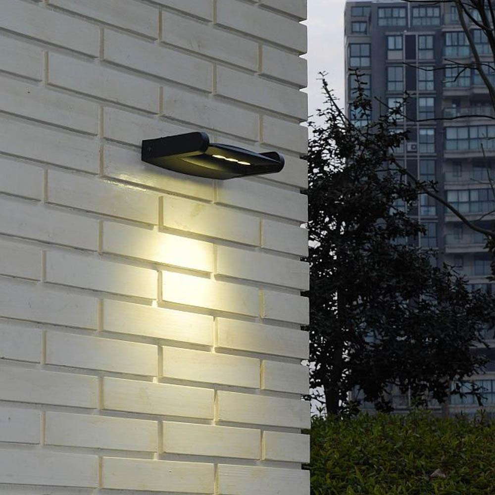 Mini LED Spot einstellbare Außenwandleuchte IP65 Anthrazit 2