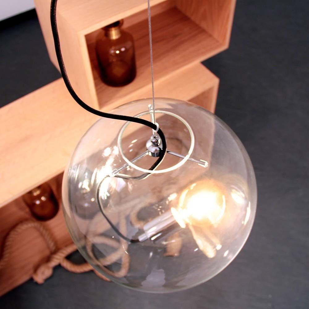 s.LUCE pro Sphere Galerieleuchte Glaskugel 5m Abhängung 15
