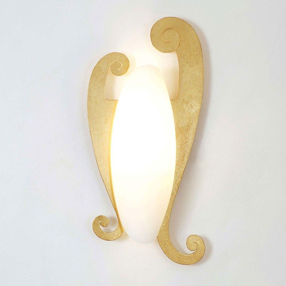 Wandleuchte Lino Eisen Gold 1