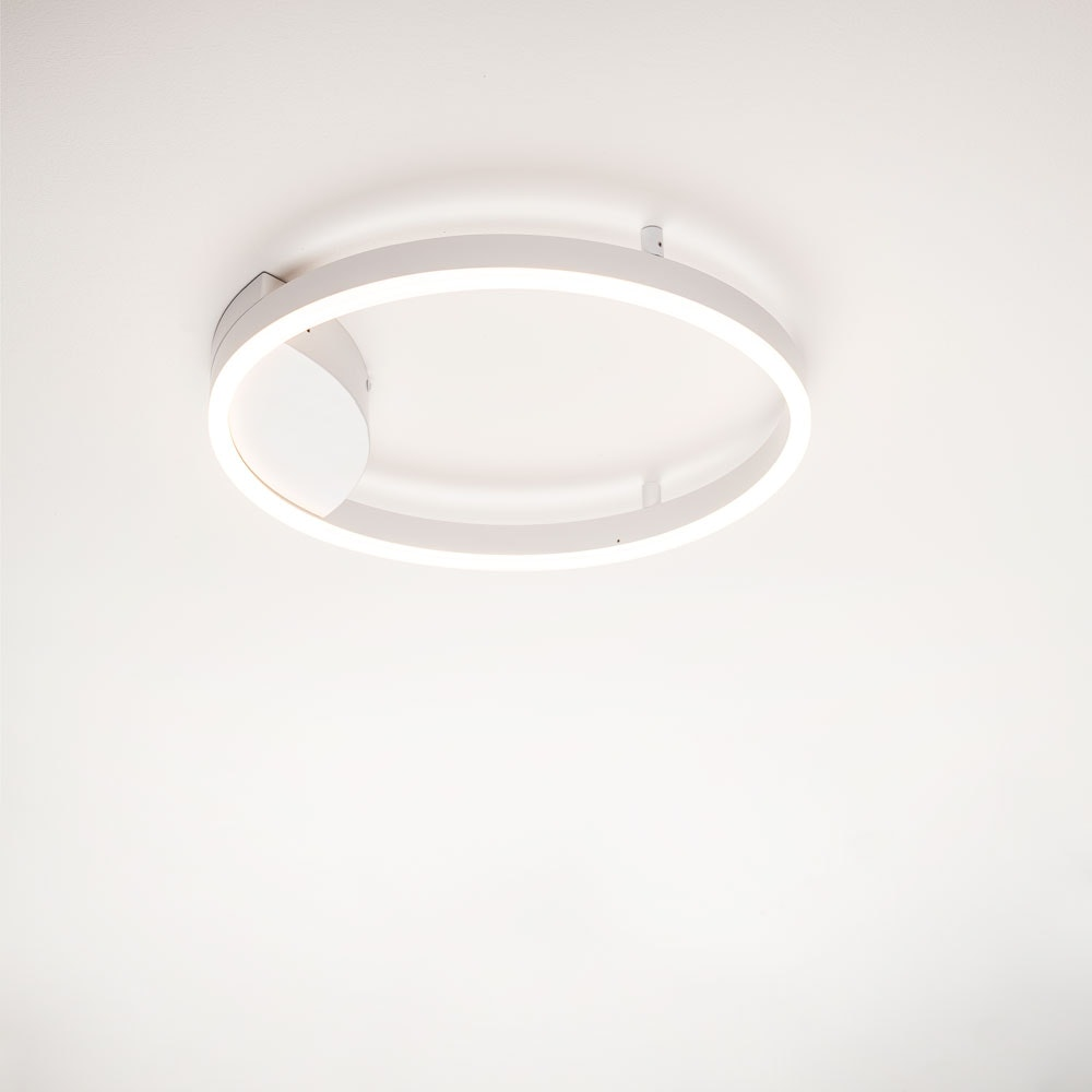s.LUCE Ring 80 Wand & Deckenlampe LED Dimmbar 24