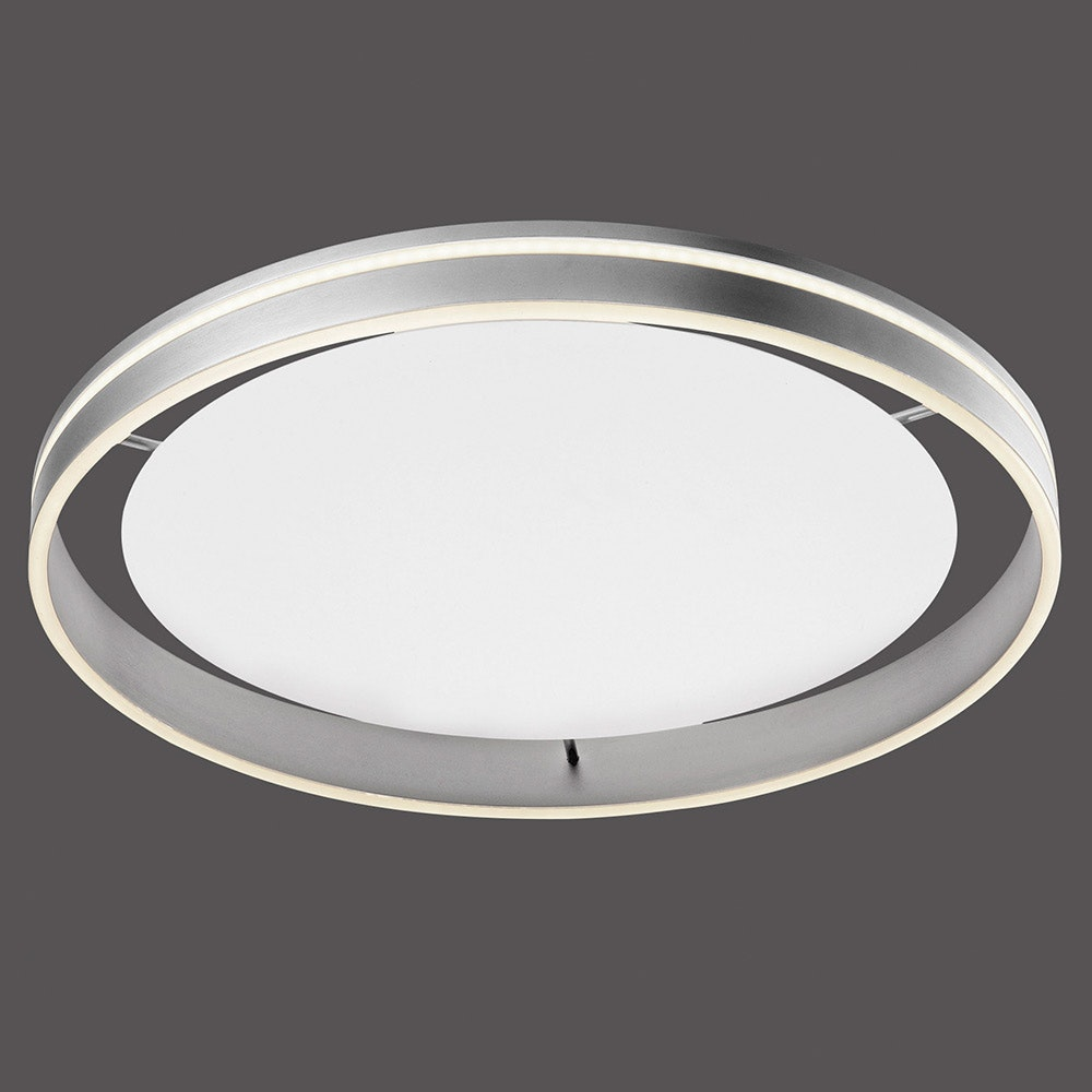 LED Deckenlampe Q-Vito Ø 59cm CCT Stahl thumbnail 4