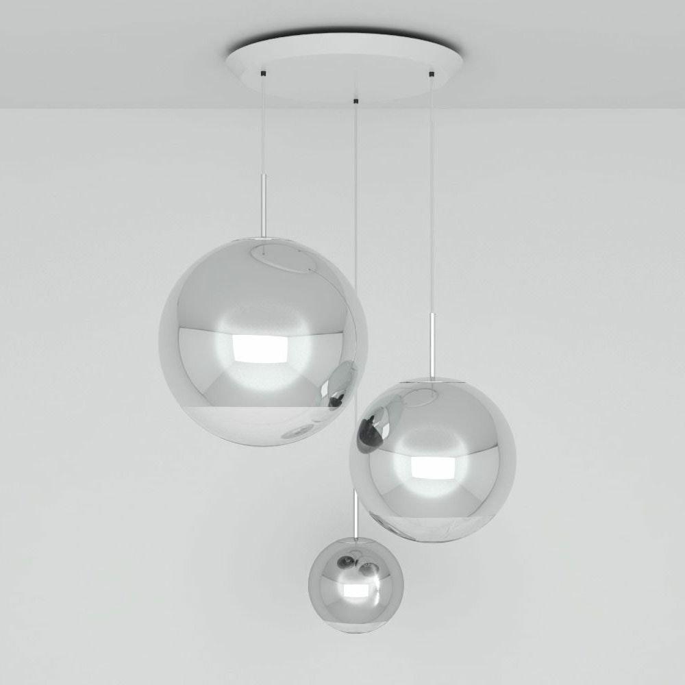 Tom Dixon Mirror Ball 3er Mobile Galerieleuchte thumbnail 4