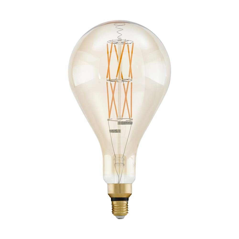 E27 XXL Retro LED 30cm Tropfen Dimmbar 806lm Extra Warmweiß 2