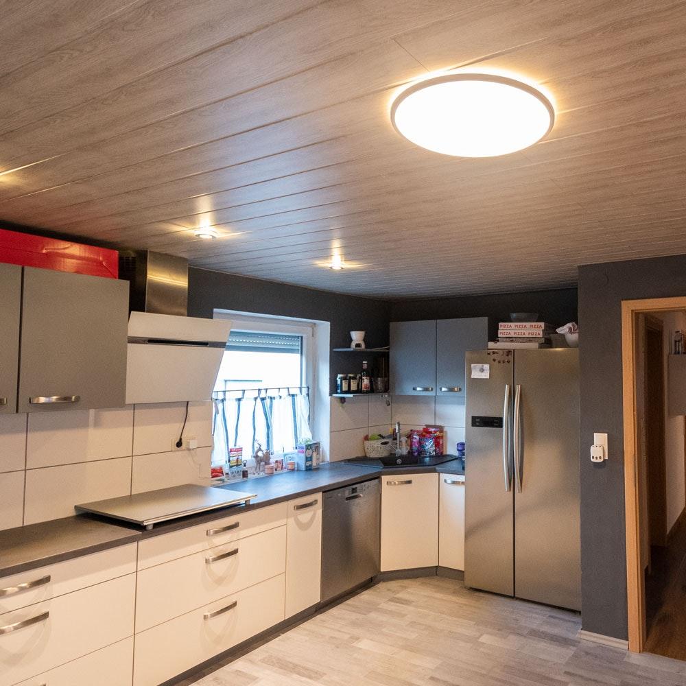 LED Deckenleuchte Board 42 Direkt & Indirekt 2700K Dimmbar per Schalter Weiß thumbnail 6