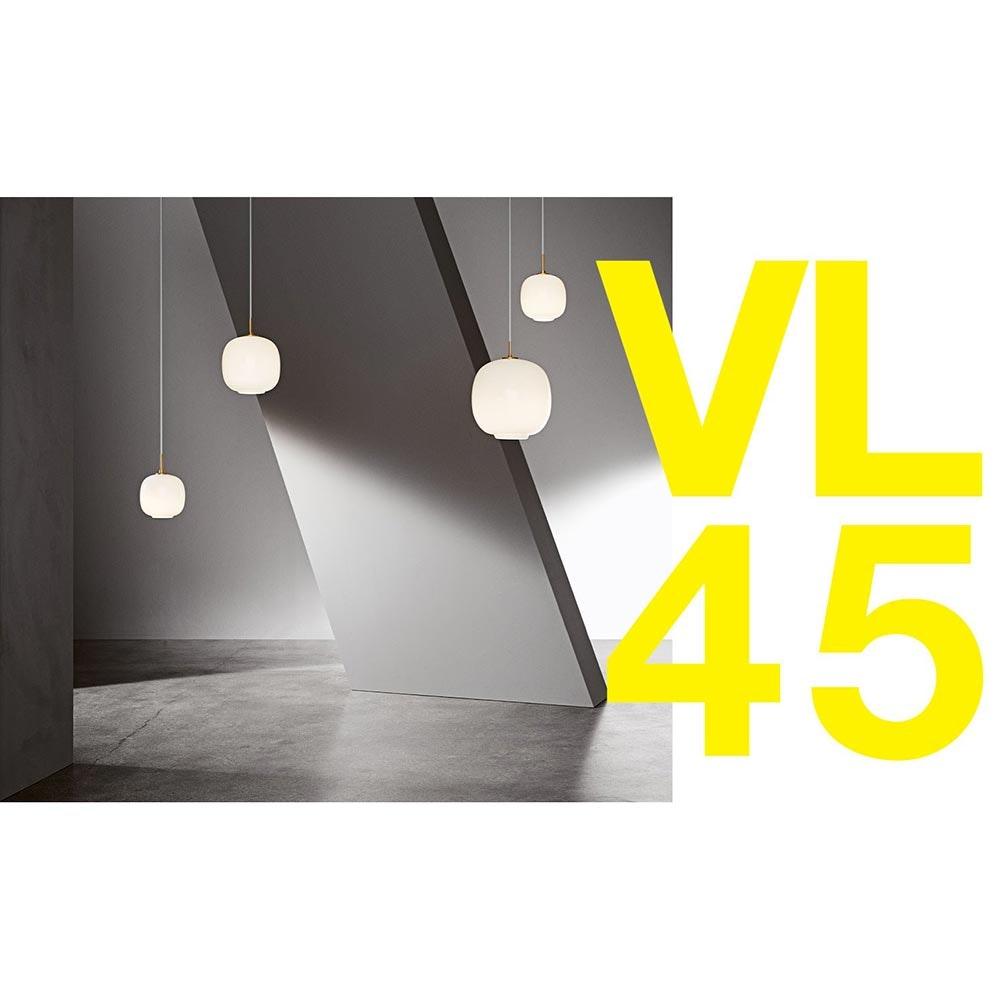 Louis Poulsen Hängelampe Radiohus VL45 Opalglas 4