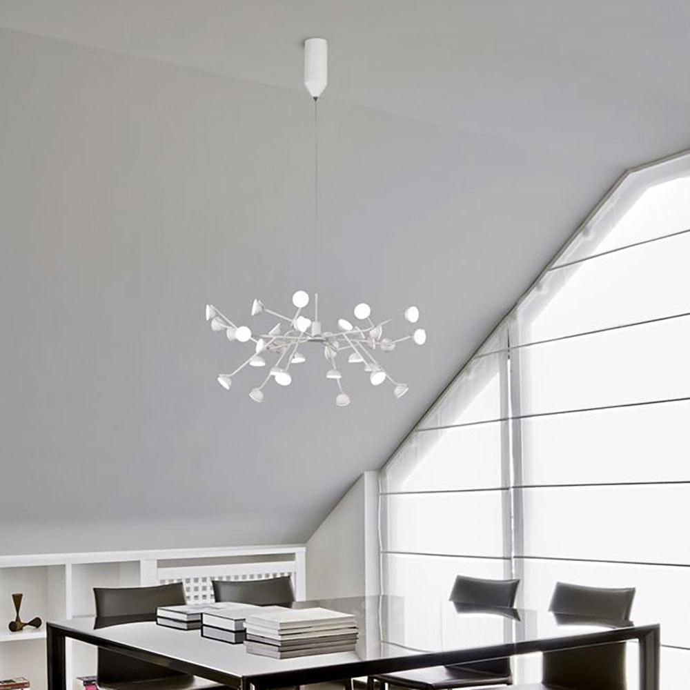 Mantra LED-Pendelleuchte Adn Groß 4