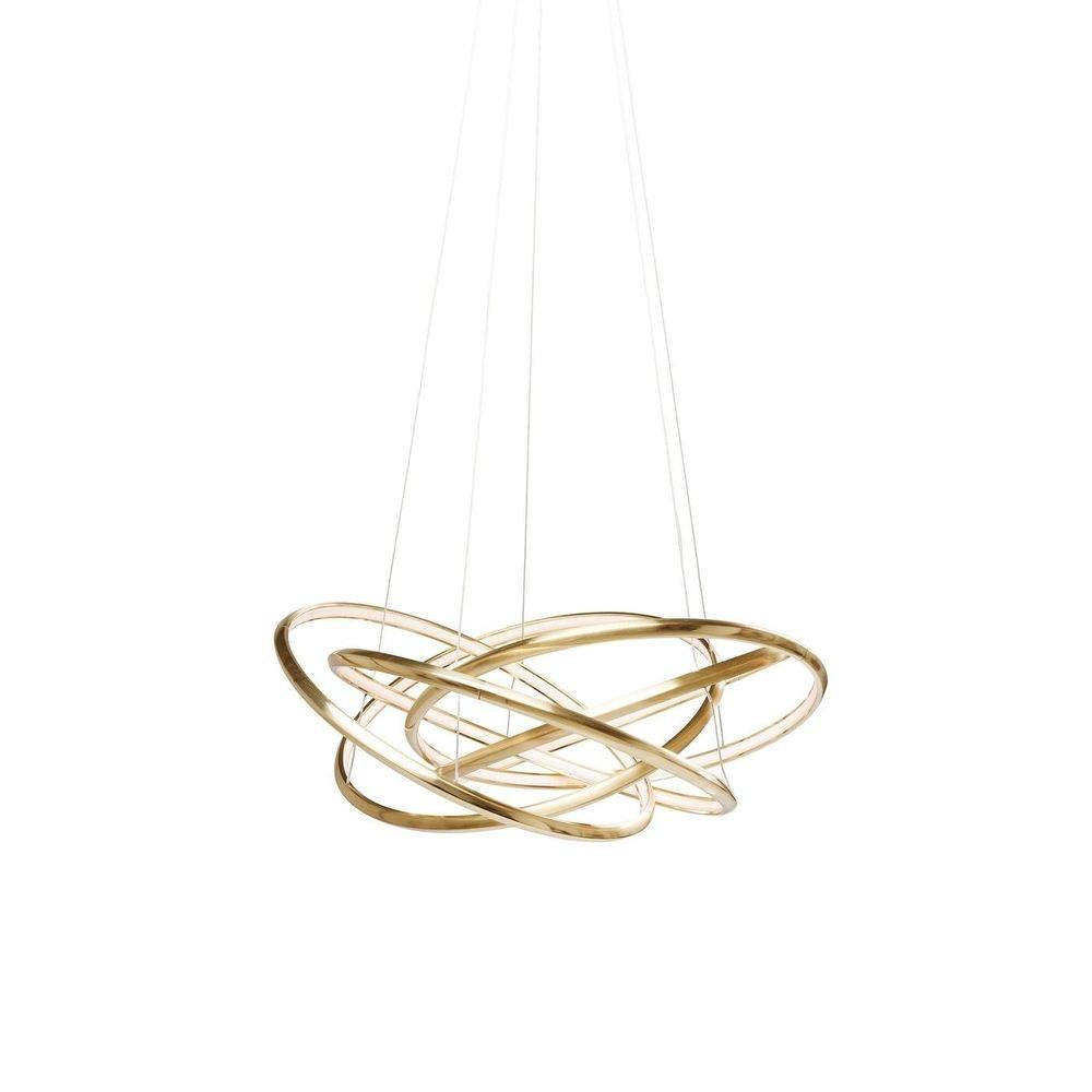 KARE LED-Hängeleuchte Saturn LED Gold Big 2