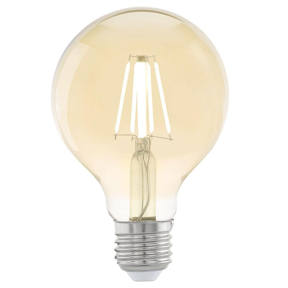E27 LED Vintage Globe Ø 8cm 4W, 320lm Extra Warmweiß