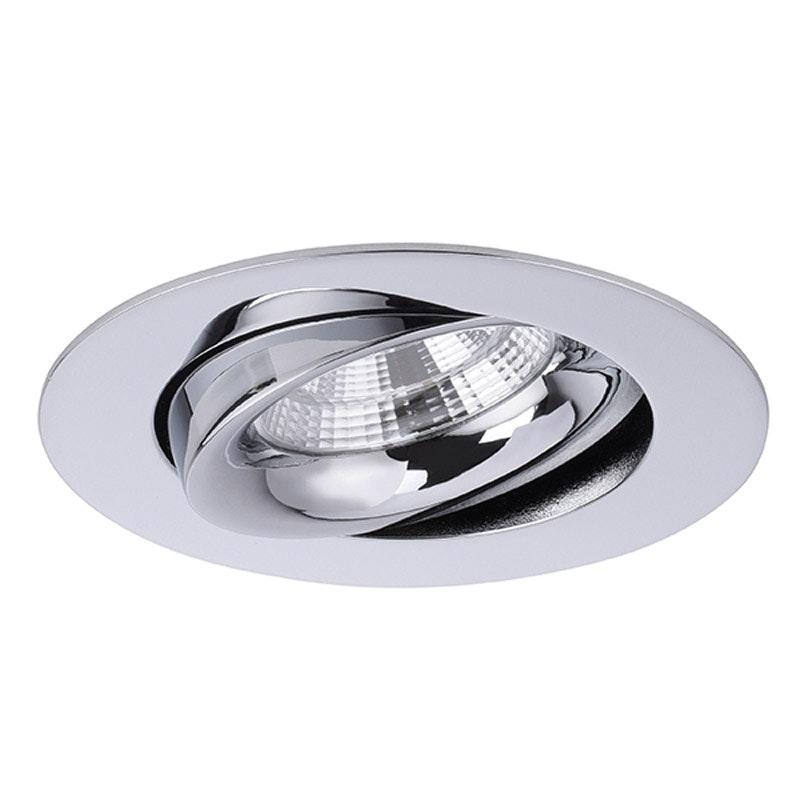 Brumberg LED Decken-Einbaustrahler Indiwo83 Chrom 1