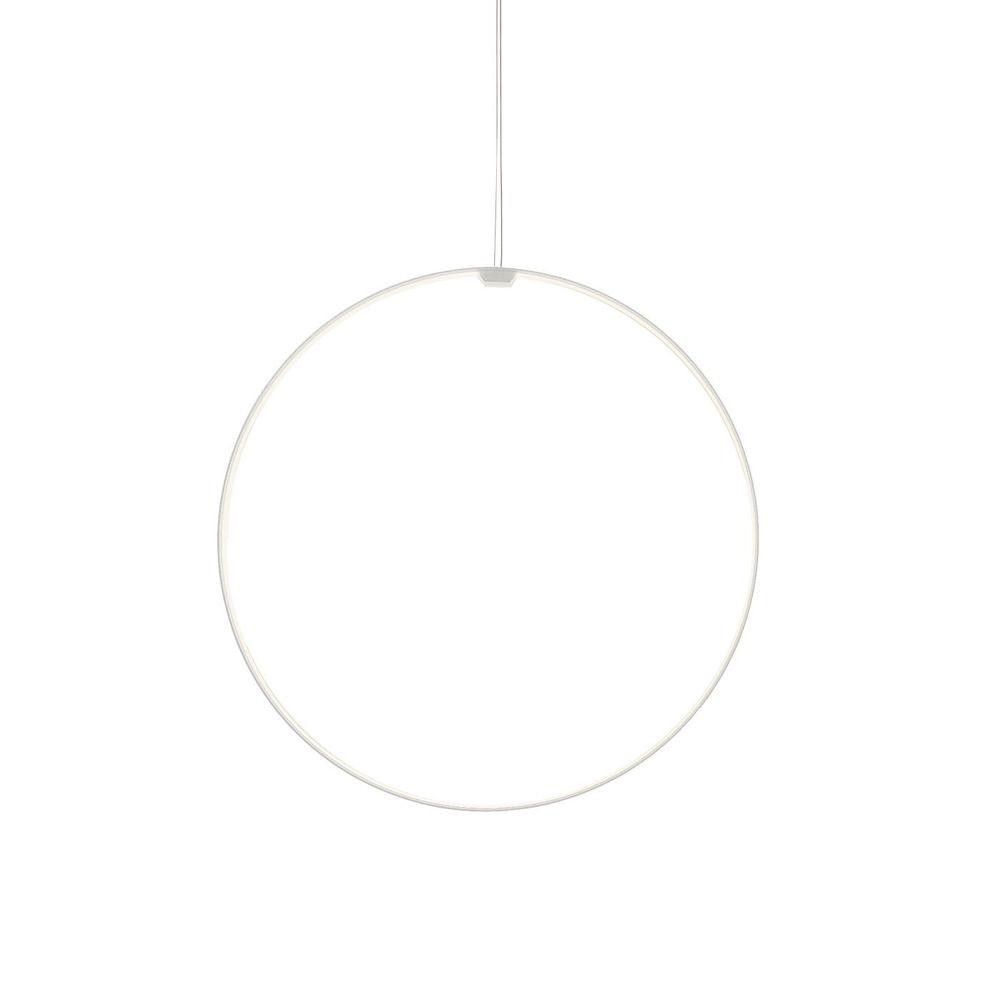 Panzeri Zero Round Vertical LED-Ringleuchte Pendel 1