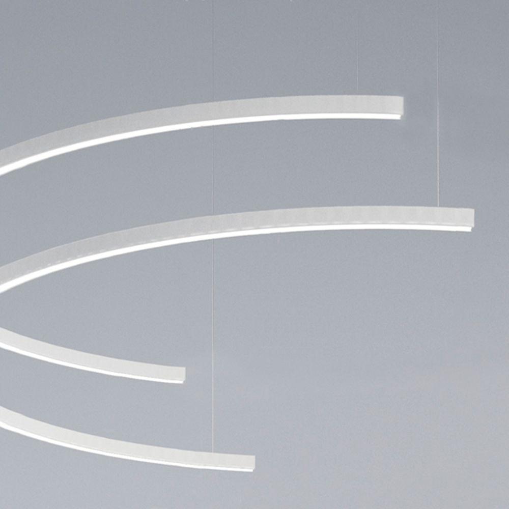 Panzeri Brooklyn Halb-Ring LED-Pendelleuchte thumbnail 3