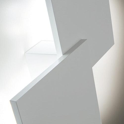 Studio Italia Design Puzzle Double eckig 48cm LED Wand- & Deckenleuchte 2