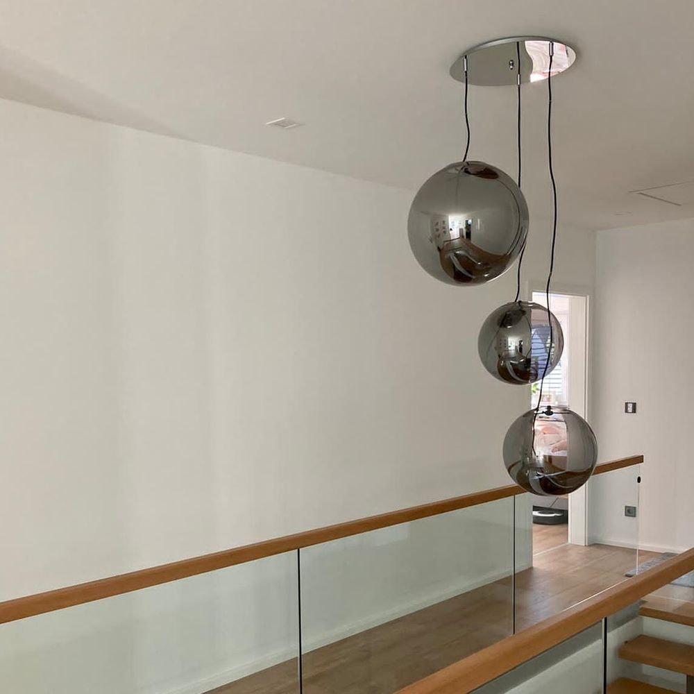 s.LUCE pro Sphere Pendelleuchte Glaskugel 16