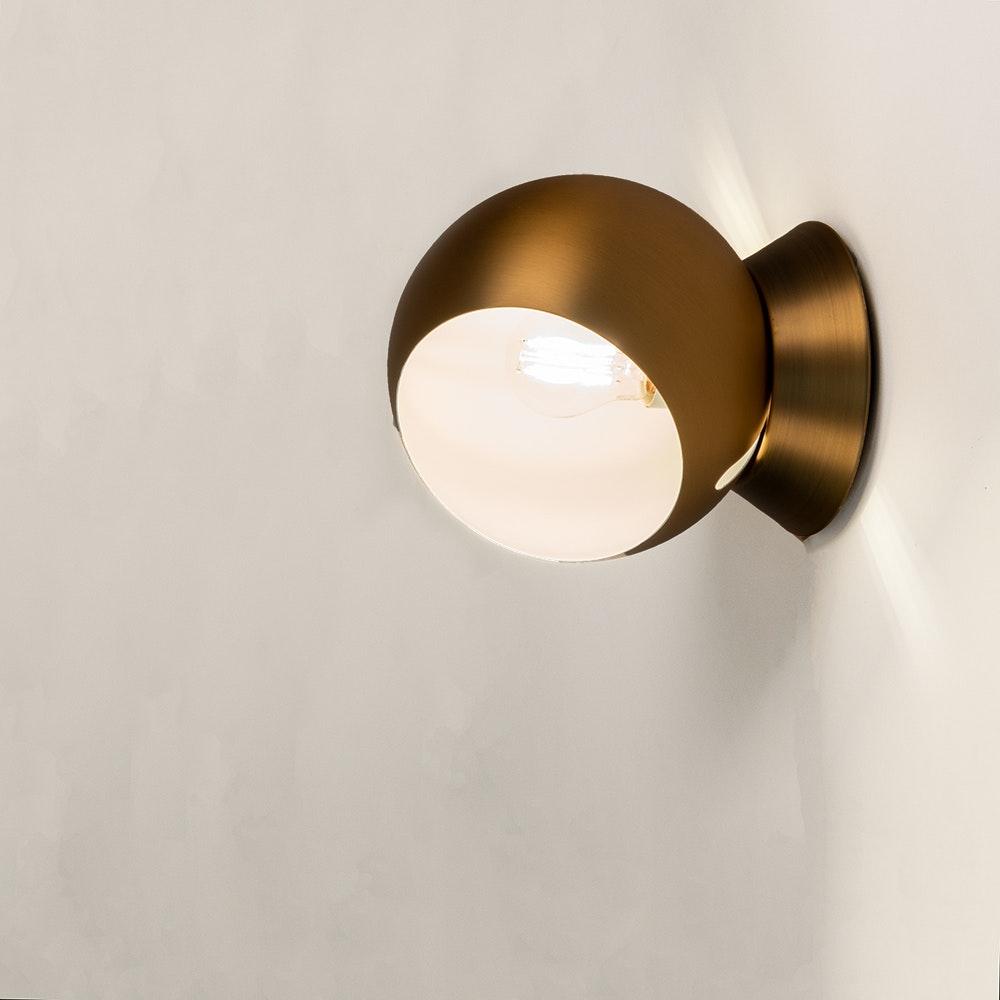 s.LUCE Ball Decken-, Wand- & Tischlampe verstellbar Ø 20cm