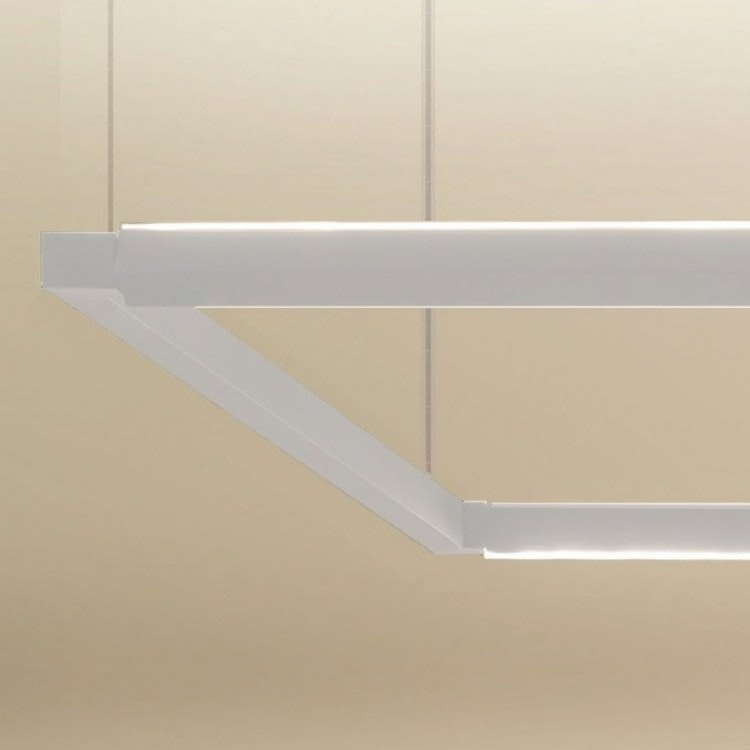 Nemo Spigolo Horizontal LED Hängeleuchte drehbar 2