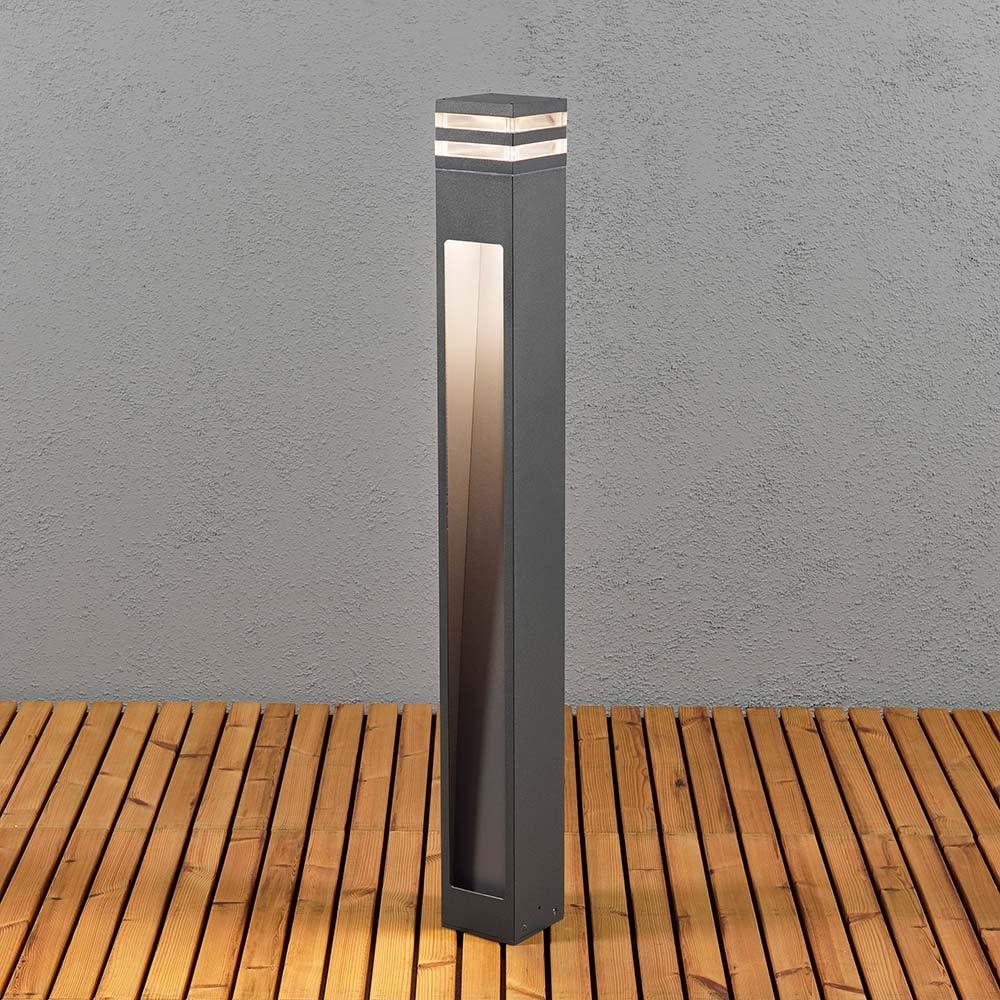 Massa LED Wegeleuchte Anthrazit, klares Acrylglas thumbnail 3