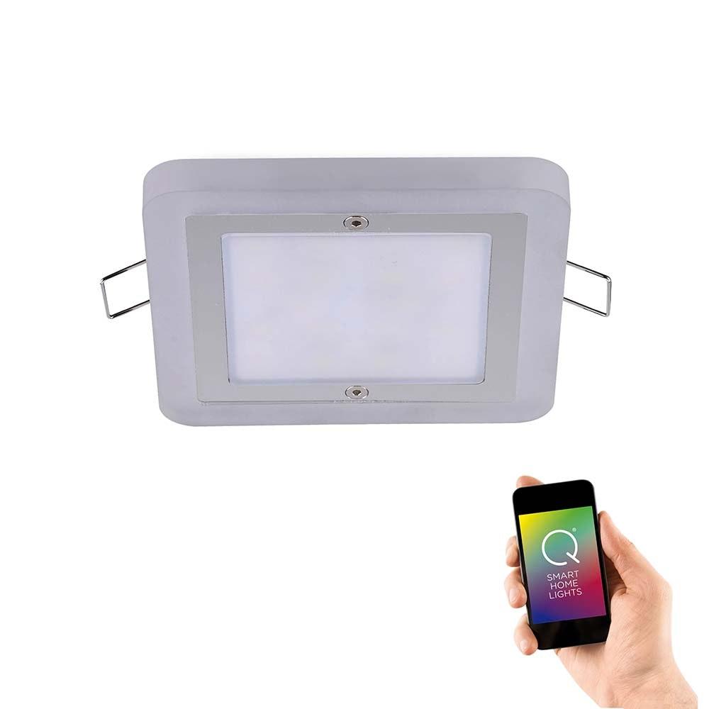 LED Einbaulampe Q-Vidal Erweiterung RGB+CCT 1