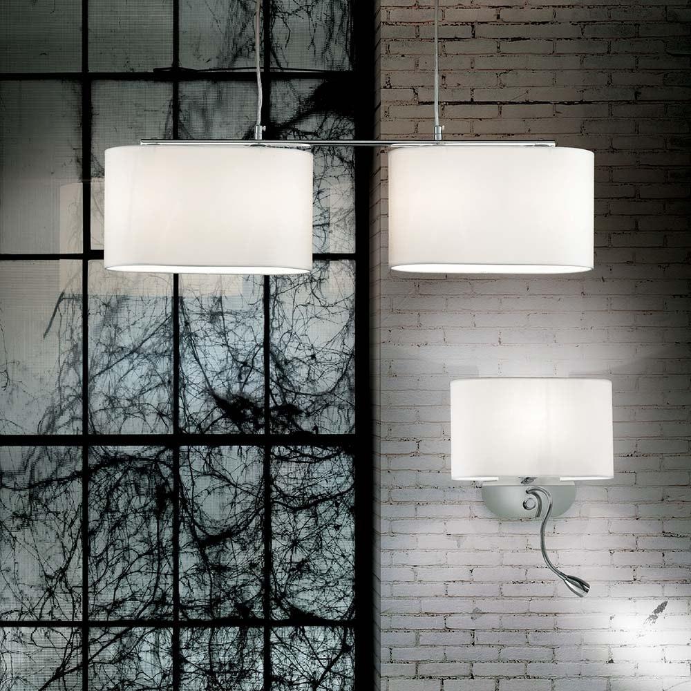 Ideal Lux Hängeleuchte Sheraton Sp4 Weiß