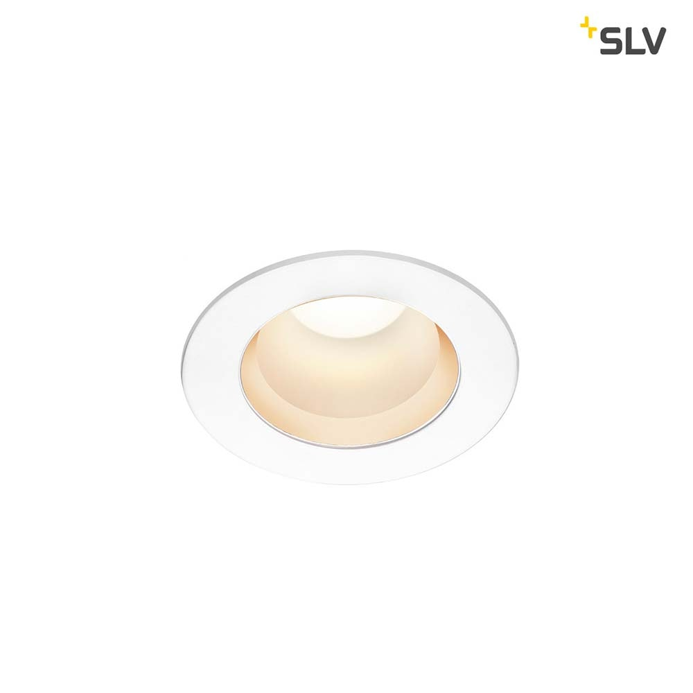 SLV Rilo LED Einbauleuchte Weiß, Chrom 420/450lm