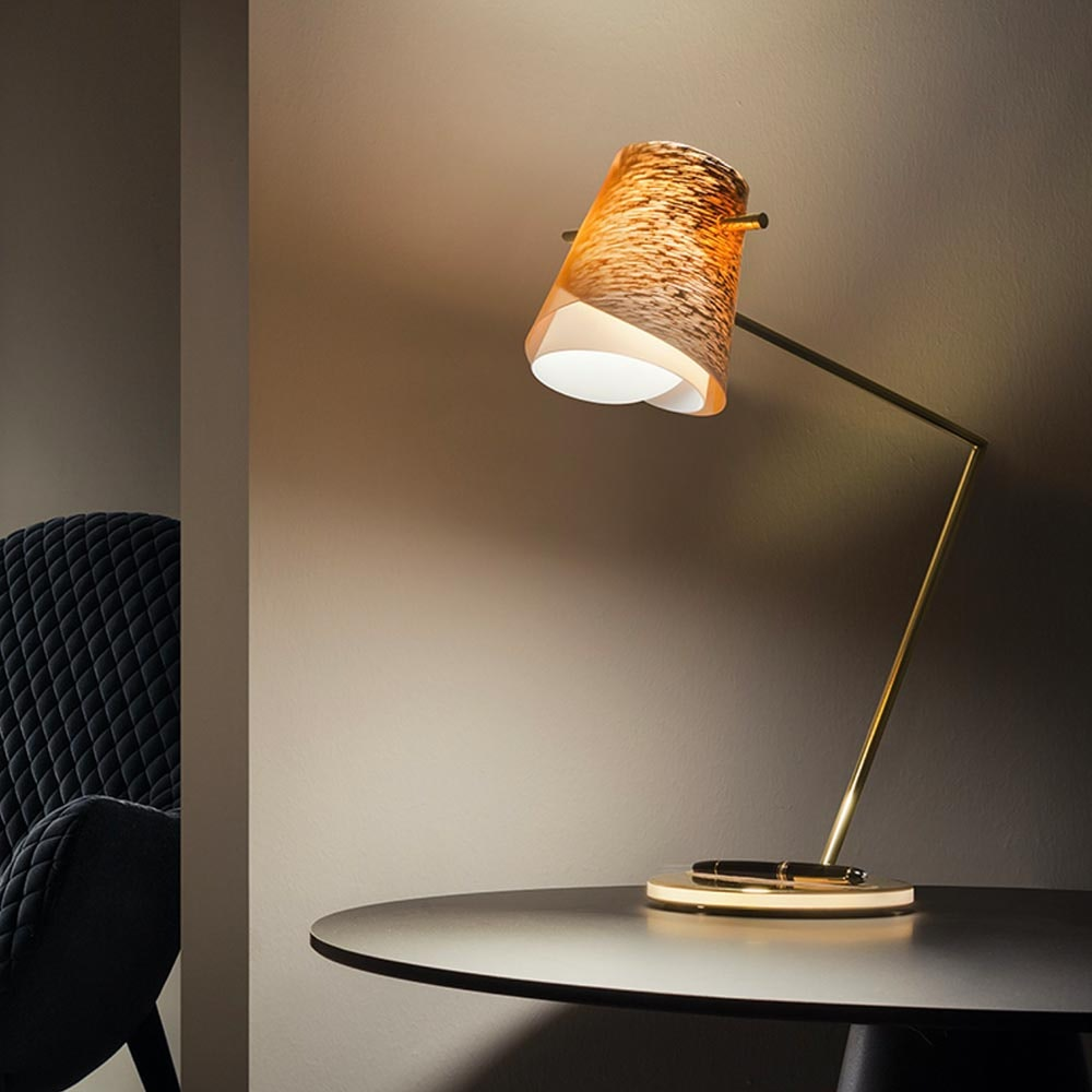 Slamp LED Schreibtischlampe Overlay & Montblanc Meisterstück Le Grand 1