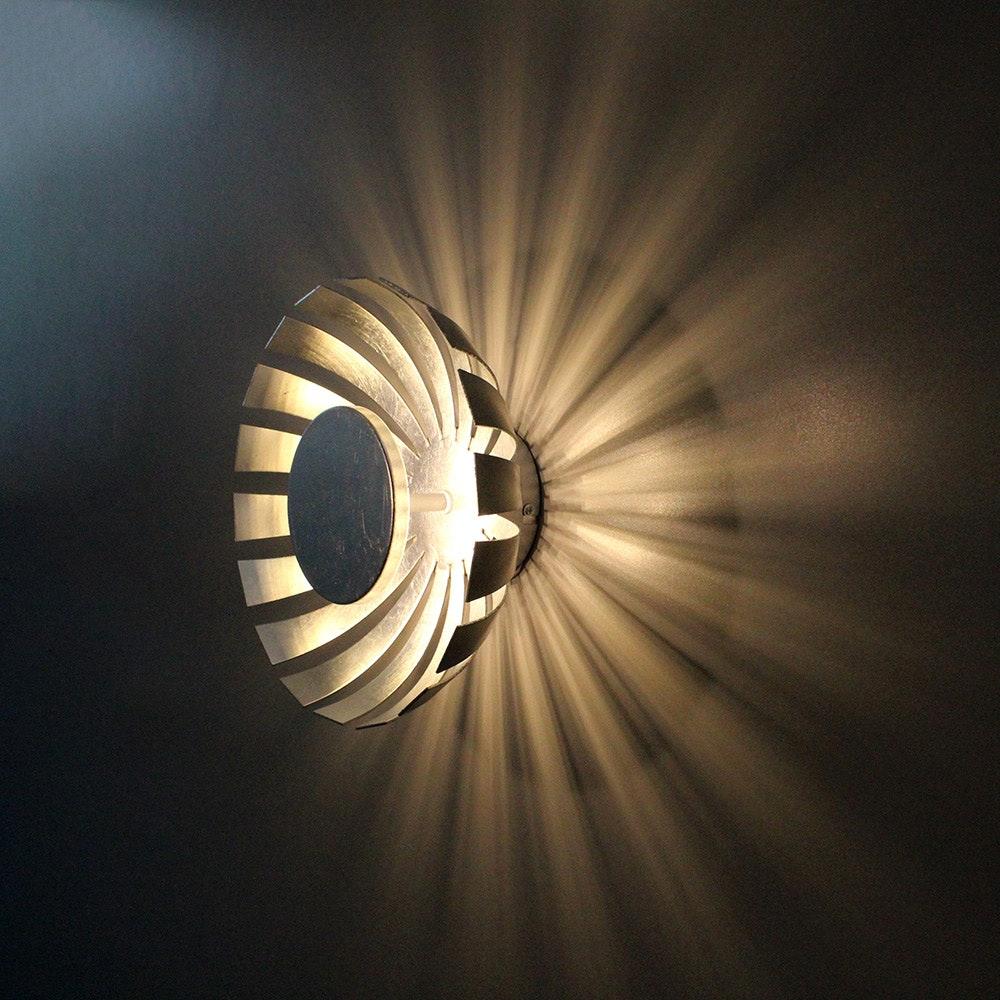 LED Wand- & Deckenleuchte Flare S Silberfarben 1