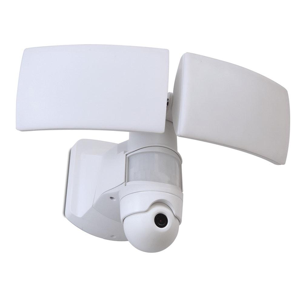 Lutec Kamera LED-Außenwandleuchte Libra IP44 3000lm Weiß 2