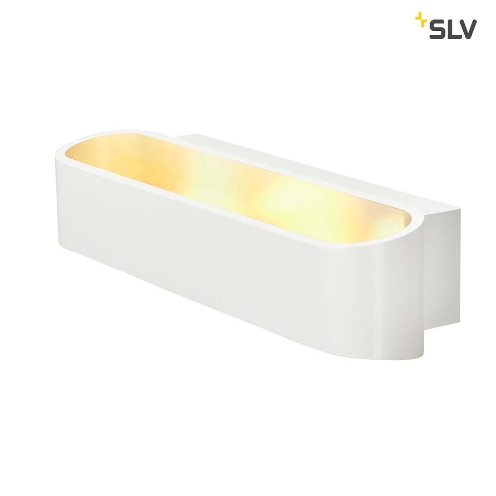SLV Asso 300 LED Wandleuchte Weiß 2000K-3000K Dim To Warm 2