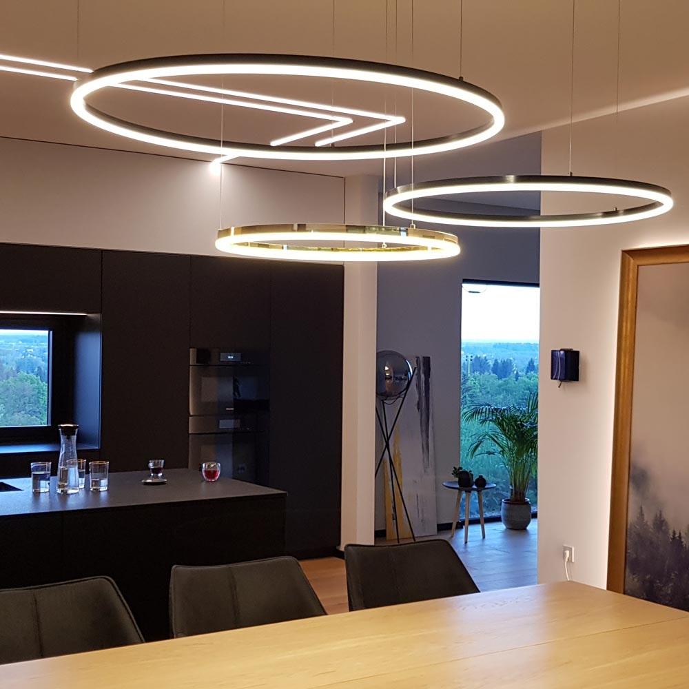 s.LUCE Ring Umbau zentrisch / exzentrisch (ohne LED-Ringe) 24
