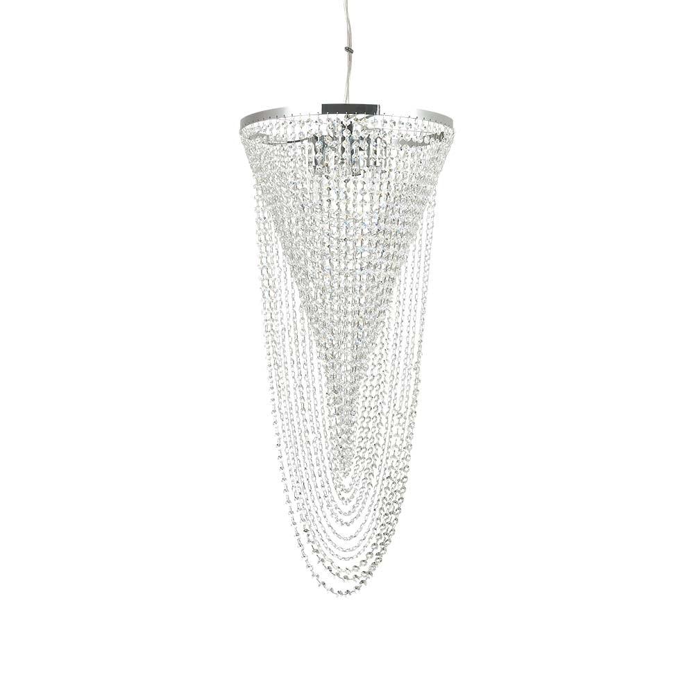 Ideal Lux Hängeleuchte Pearl 6-flg. Chrom 1