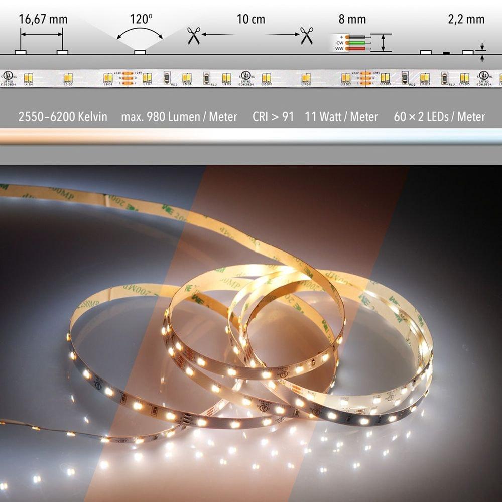 LED Strip Komplettset inkl. Trafo und Steuerung  46