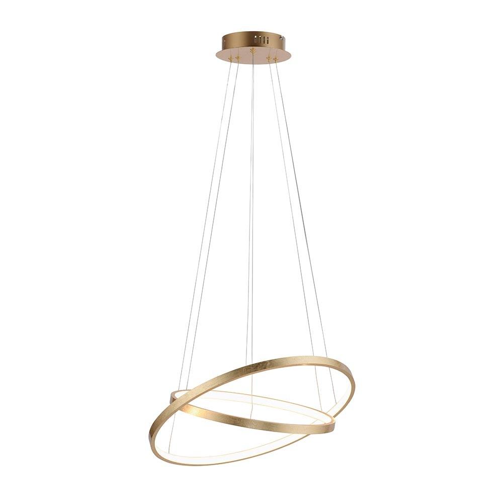 LED Ring-Hängeleuchte Circle Ø 50cm 5